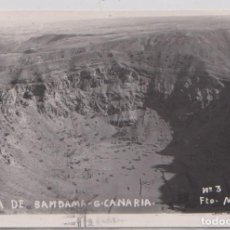 Postales: GRAN CANARIA - CALDERA DE BANDAMA. Lote 75271859