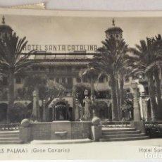 Postales: POSTAL FOTOGRÁFICA. HOTEL SANTA CATALINA. LAS PALMAS. GRAN CANARIA. CANARIAS.. Lote 76332671