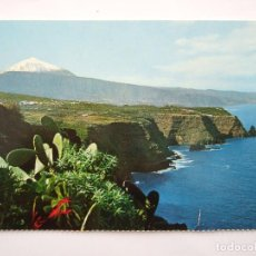 Postales: POSTAL TENERIFE - PAISAJE CON TEIDE Y MAR - 1971 - FARDI 131 - SIN CIRCULAR. Lote 76622543