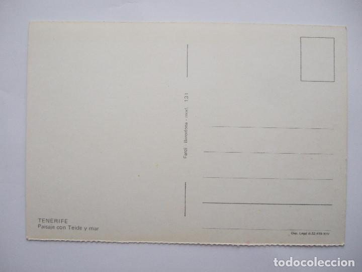Postales: POSTAL TENERIFE - PAISAJE CON TEIDE Y MAR - 1971 - FARDI 131 - SIN CIRCULAR - Foto 2 - 76622543