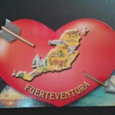 Postales: POSTAL TROQUELADA FUERTEVENTURA. Lote 77997194