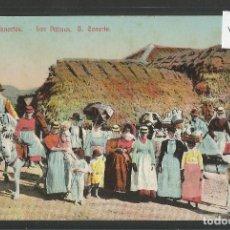 Postales: GRAN CANARIA - TIPOS CANARIOS - VER REVERSO - (46.732). Lote 78032969