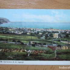 Postais: TENERIFE. CARRETERA DE LA LAGUNA.. Lote 80485525