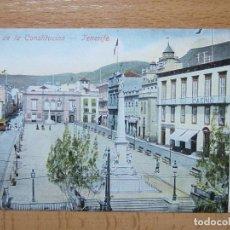 Postais: TENERIFE PLAZA DE LA CONSTITUCION.. Lote 134904283