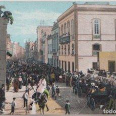 Postales: LAS PALMAS (GRAN CANARIA) - CALLE TRIANA - CARNAVAL. Lote 80789030