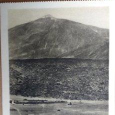 Postales: RARA EDICION, TENERIFE, (ISLAS CANARIAS),EL TEIDE, LAS CAÑADAS, SIN EDITOR.. Lote 81886608