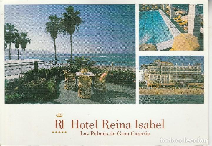 Nº 24119 Postal Hotel Reina Isabel Las Palmas D Comprar Postales