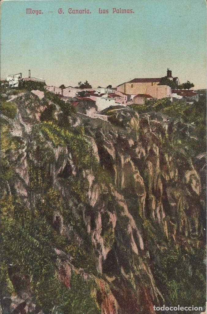 MOYA GRAN CANARIA. LAS PALMAS. (Postales - España - Canarias Antigua (hasta 1939))