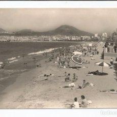 Postales: PUERTO DE LA LUZ (LAS PALMAS) - PLAYA DE LAS CANTERAS - Nº 1077 ED. ARRIBAS. Lote 84648832