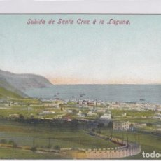 Postales: SUBIDA DE SANTA CRUZ A LA LAGUNA. TENERIFE. Lote 84983116
