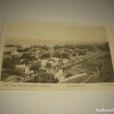 Postales: LAS PALMAS DE GRAN CANARIA 129 . CIUDAD JARDIN ; ED ARRIBAS , ESCRITA. Lote 87307232