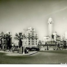Postales: TENERIFE-PLAZA DE ESPAÑA-MONUMENTO A LOS CAIDOS.-AUTOBUS--FOTOGRÁFICA -DOMINGUEZ 58. Lote 87398528