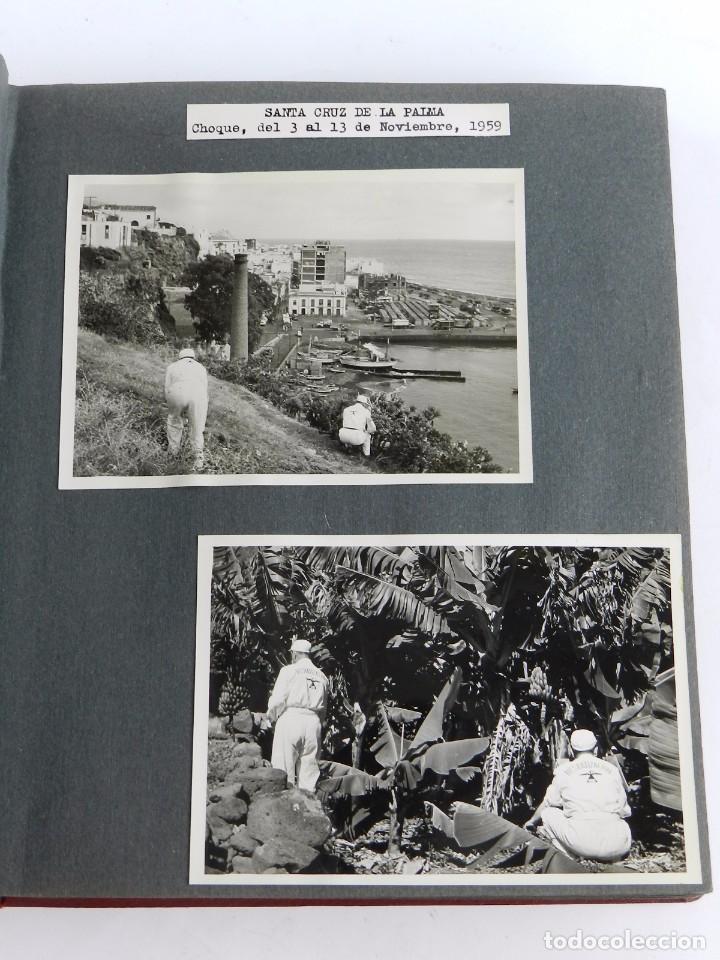 2 FOTOGRAFIAS DE SANTA CRUZ DE LA PALMA, MIDEN 13 X 9,2 CMS. FECHADAS EN NOVIEMBRE DE 1959 CON MOTIV (Postales - España - Canarias Antigua (hasta 1939))