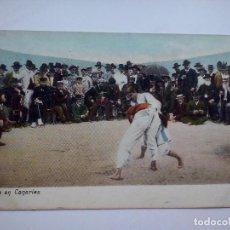 Cartes Postales: LUCHA EN CANARIAS - POSTAL CIRCULADA EN 1918. Lote 131920682