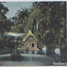 Postales: POSTAL LAS PALMAS DE GRAN CANARIA JARDIN LAGO CISNES ED. BAZAR ALEMAN N° 2997. Lote 89049852