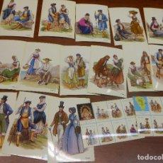 Postales: LA PALMA COLECCION DE 16 POSTALES CANARIAS TRAJE TIPICO - EDICIONES ISLAS. Lote 89197624