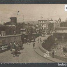 Postales: SANTA CRUZ DE TENERIFE - ENTRADA MUELLE - P21292. Lote 89227384