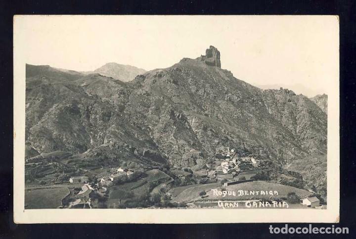 POSTAL DE TEJEDA (GRAN CANARIA): ROQUE BENTAYGA (Postales - España - Canarias Antigua (hasta 1939))
