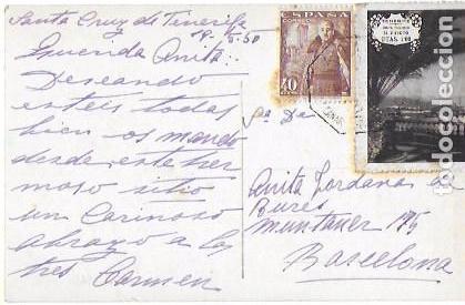 Postales: P- 7004. POSTAL TENERIFE, EL TEIDE DESDE EL PUERTO DE LA CRUZ. Nº40. ARRIBAS. - Foto 2 - 89546416