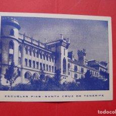 Postales: TARJETA POSTAL (1940-50'S) SANTA CRUZ TENERIFE ¡SIN CIRCULAR! ¡ORIGINAL!. Lote 89792808