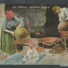 Postales: LAS PALMAS - INDÚSTRIA CANARIA - ALFARERIA - CERÁMICA - P21490. Lote 89797544