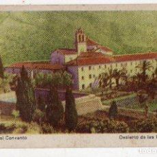 Postales: DESIERTO DE LAS PALMAS. VISTA DEL CONVENTO.. Lote 91396180