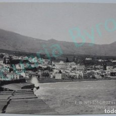 Postales: POSTAL ANTIGUA. VISTA GENERAL DE SANTA CRUZ DE LA PALMA. CANARIAS. F.B. Nº 1. AÑO 1915. Lote 94375330