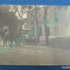 Postales: POSTAL ANTIGUA. CANARIAS. COCHE ANTIGUO. CARRUAJE CON CABALLOS.. Lote 94556499