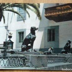 Postales: LAS PALMAS DE GRAN CANARIA - PERROS DE PLAZA SANTA ANA. Lote 95608567