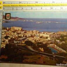 Postales: POSTAL DE GRAN CANARIA. AÑO 1965. LAS PALMAS, BAHÍA Y DIQUE DEL GENERALÍSIMO, 536. Lote 95907779