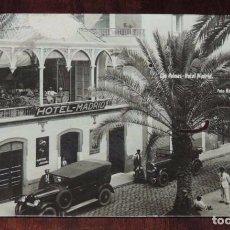 Postales: FOTO POSTAL DE LAS PALMAS, HOTEL MADRID, FOTO BAENA, CIRCULADA, ALGUN PEQUEÑO DESPERFECTO, PERO A MI. Lote 95984923