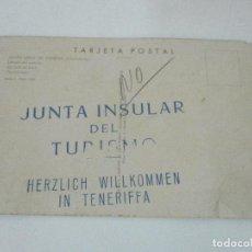 Postales: TARJETA POSTAL - SANTA CRUZ DE TENERIFE (CANARIAS) - SELLO JUNTA INSULAR DEL TURISMO. Lote 96054087