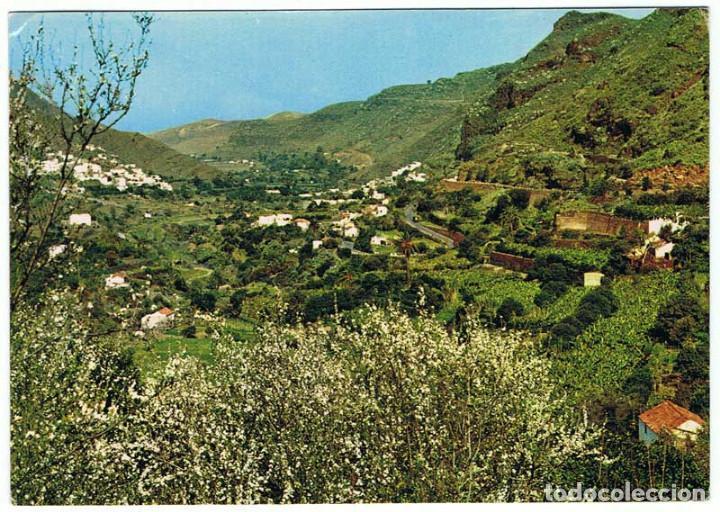 POSTAL DE LAS PALMAS DE GRAN CANARIA, VALLE DE AGAETE. ED. ISLAS. SIN CIRCULAR (Postales - España - Canarias Moderna (desde 1940))
