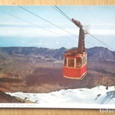 Postales: TELEFERICO DEL TEIDE. Lote 96421355