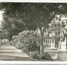 Postales: TENERIFE-RAMBLA GRAL FRANCO- AÑO 1944 -BAENA RARA. Lote 97410383