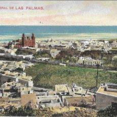 Postales: P- 7451. POSTAL LAS PALMAS, VISTA GENERAL.. Lote 97756783