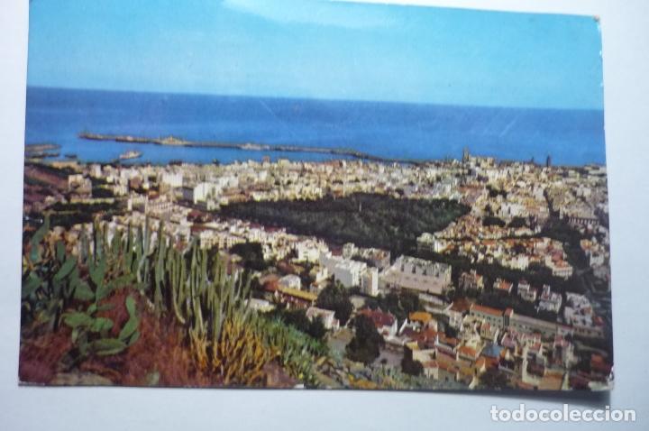 POSTAL STA.CRUZ TENERIFE - VISTA PARCIAL --CIRCULADA CM (Postales - España - Canarias Moderna (desde 1940))