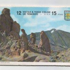 Postales: LIBRITO CON 12 VISTAS A TODO COLOR DE TENERIFE ( EN ACORDEÓN ).EDITADO POR POSTAL OSCAR COLOR.1965. Lote 98484515