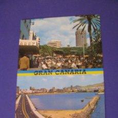 Postales: POSTAL DE GRAN CANARIA. ED. RABADAN. ESCRITA.. Lote 98594215