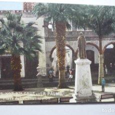 Postales: POSTAL SANTA CRUZ DE LA PALMA - PL.CONSTITUCION CM. Lote 98712643