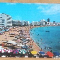 Postales: LAS PALMAS DE GRAN CANARIA - PLAYA DE LAS CANTERAS. Lote 99126319