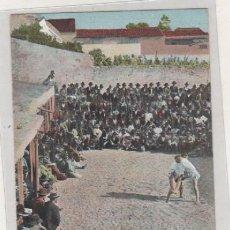 Postales: FIESTAS CANARIAS. LUCHADAS J. PERESTRELLO. REVERSO SIN DIVIDIR. CIRCALADA SIN ESCRIBIR EN EL REVERSO. Lote 99715787