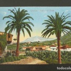 Postales: POSTAL CANARIAS. TENERIFE. EL TEIDE. . Lote 99956927