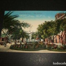 Postales: LAS PALMAS PLAZA DE CAIRASCO. Lote 99964199