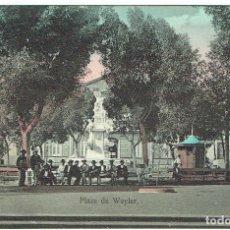 Postales: SANTA CRUZ DE TENERIFE. PLAZA DE WEYLER. AÑOS 1910. . Lote 100259527