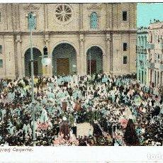 Postales: LAS PALMAS DE GRAN CANARIA. SEMANA SANTA. AÑOS 1910.. Lote 100259631