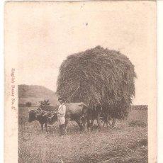 Postales: TENERIFE, YUNTA DE BUEYES, ENGLISH BAZAR, NR.5, SIN DIVIDIR, CIRCULADA CON SU SELLO. Lote 100458271