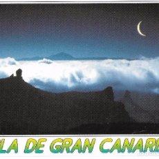 Postales: ** A1358 - POSTAL - ISLA DE GRAN CANARIA - EL ROQUE NUBIO Y EL TEIDE. Lote 100672379