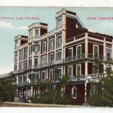 Postales: LAS PALMAS DE GRAN CANARIA. HOTEL METRÓPOLE. FRANQUEADA EL 14 DE AGOSTO DE 1911.. Lote 100744723