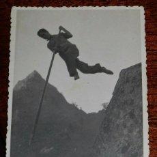 Postales: FOTO POSTAL DE CANARIAS, SALTO DEL PASTOR, NO CIRCULADA.. Lote 101051147